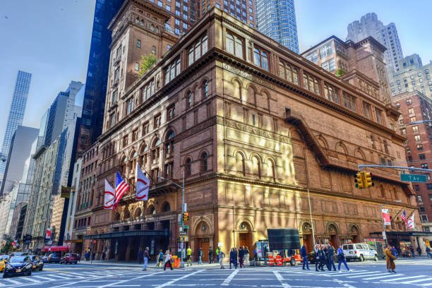 Carnegie Hall - New York City stock photo