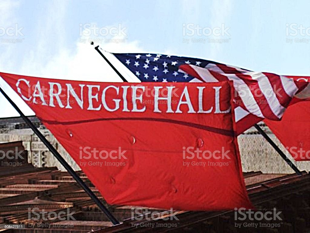 Carnegie Hall stock photo