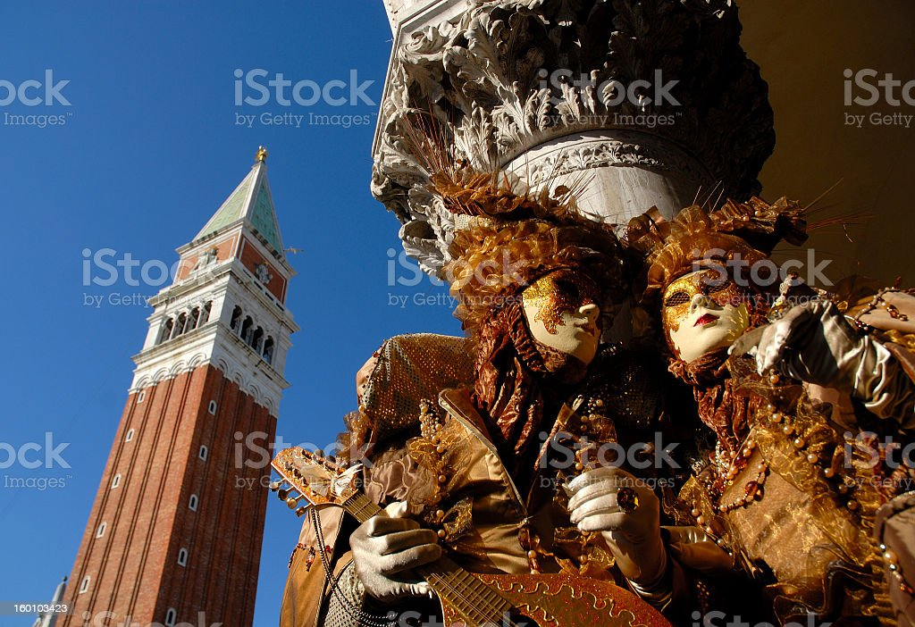 Carneval in Venice stock photo