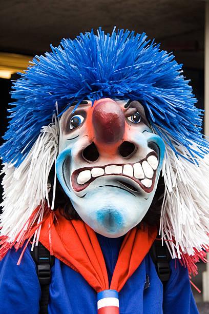 carneval maske - fasnacht stock-fotos und bilder