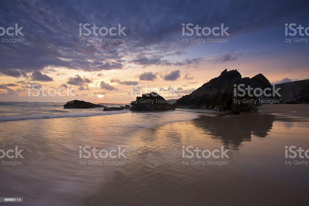 Carnewas & Bedruthan Steps stock photo
