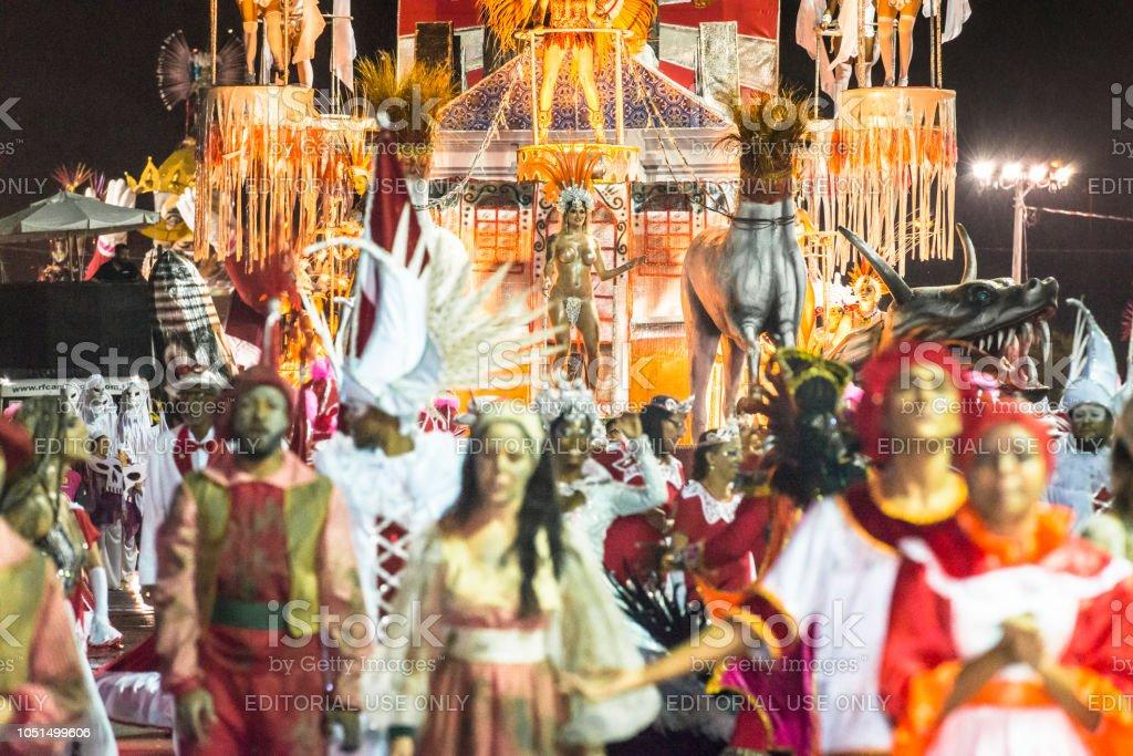 Carnaval 2018 - Brazil stock photo