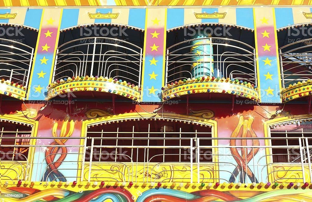 carnival attraction stock photo