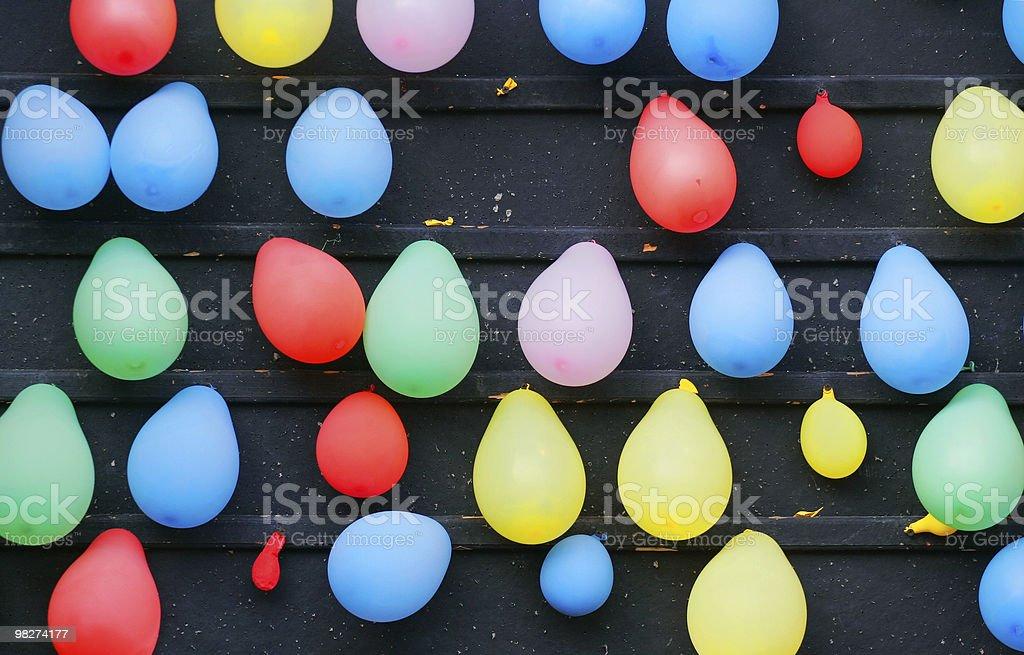 Carnival Balloon Dart Game royalty-free stock photo