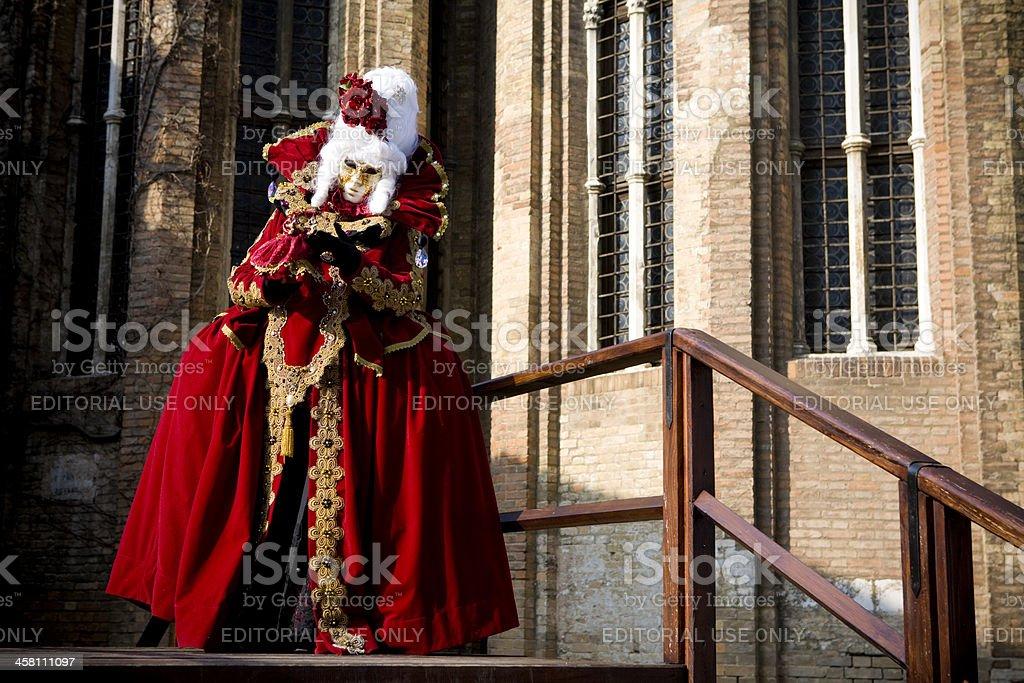 Carnival Beauty royalty-free stock photo