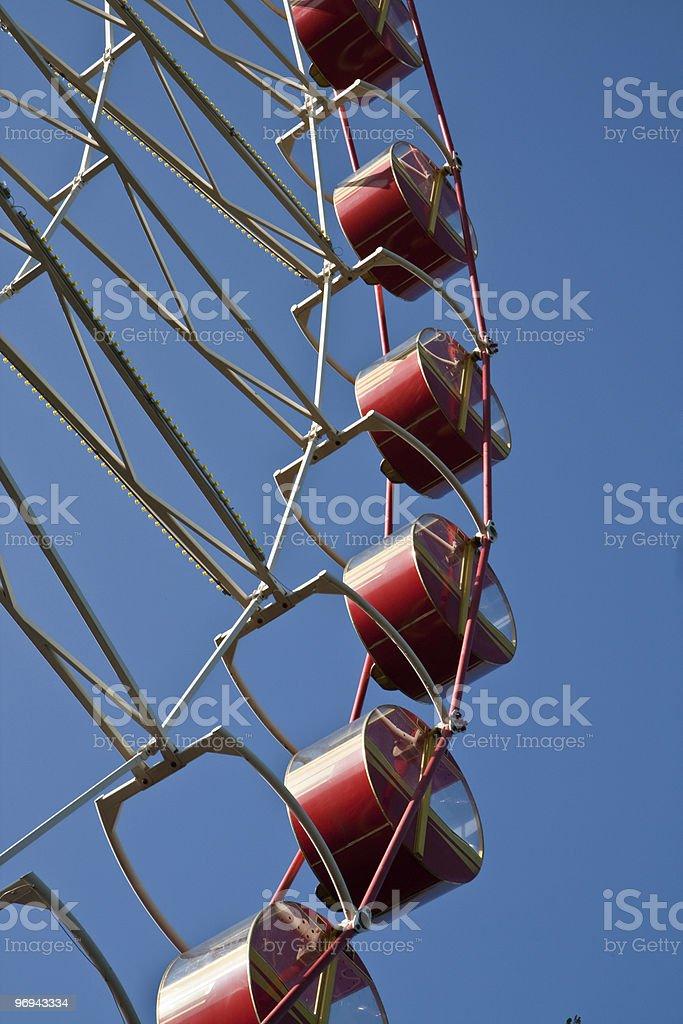 Carnival Big Ferris Wheel royalty-free stock photo
