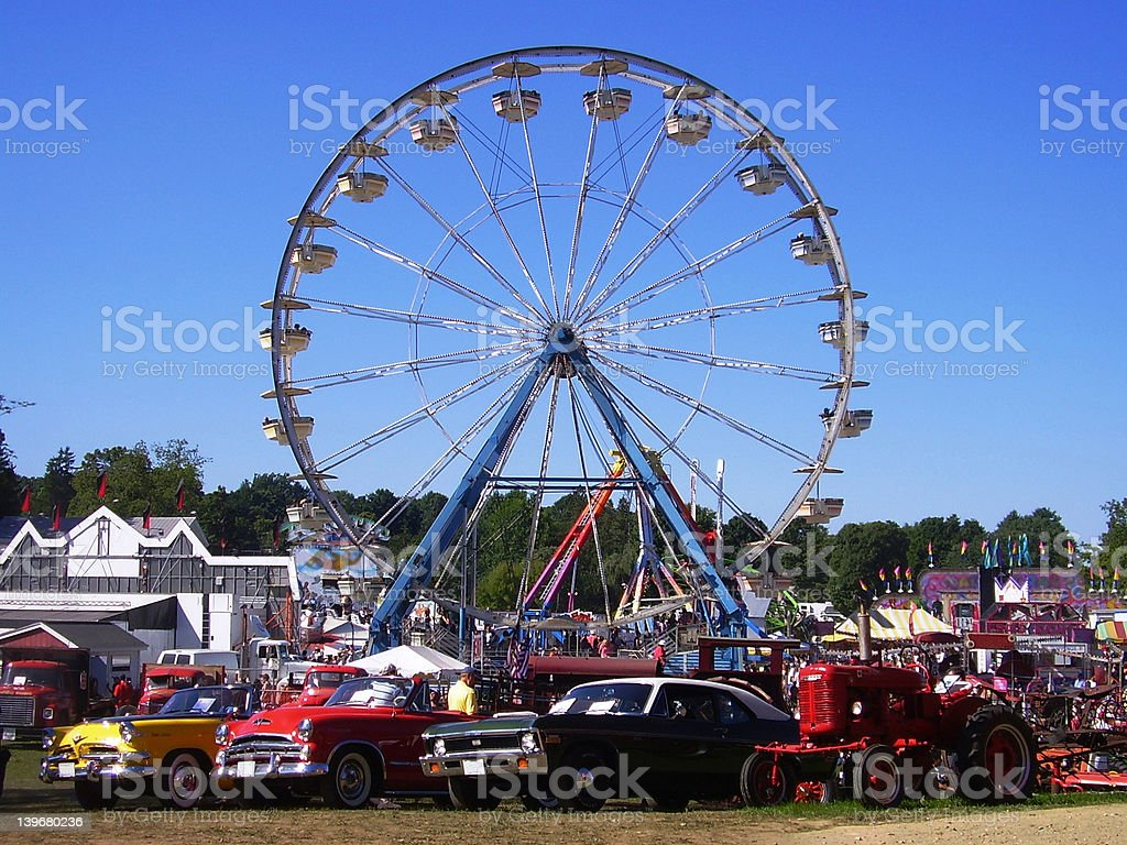 Carnival Car Show royalty-free stock photo