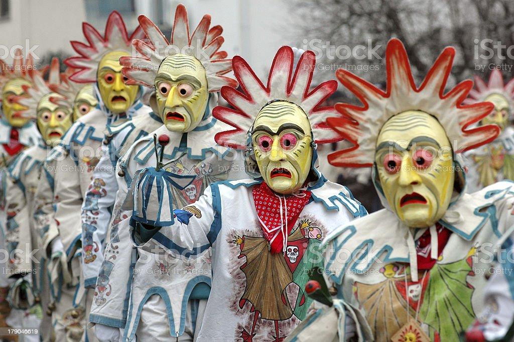 carnival carneval fastnacht stock photo