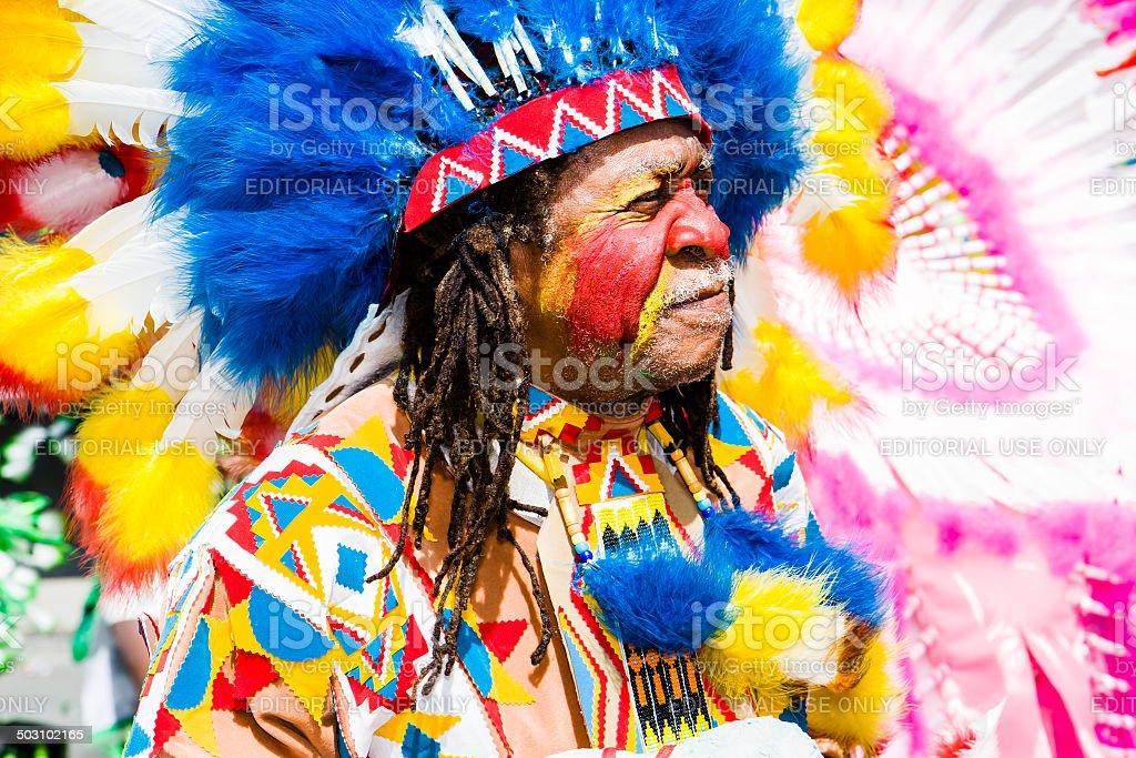 carnival chief stock photo