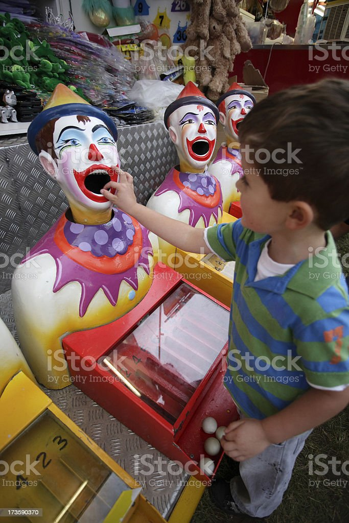 Carnival Clowns royalty-free stock photo