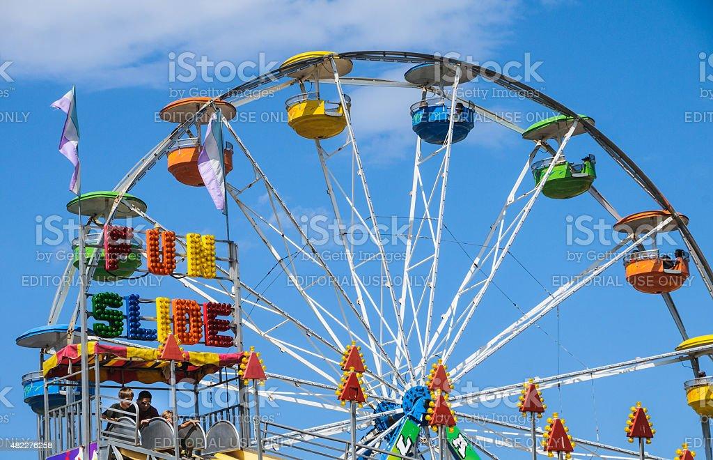 Carnival Colors stock photo