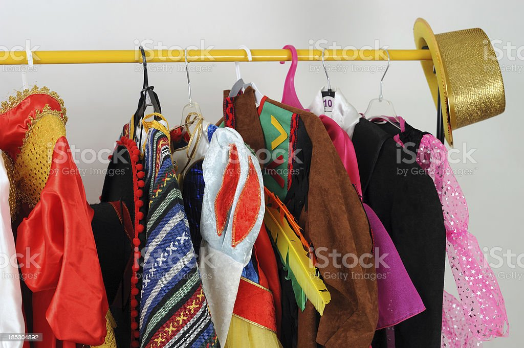 Carnival Costumes stock photo