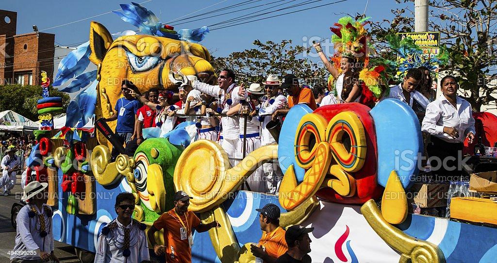 Carnaval De Barranquilla - foto de stock