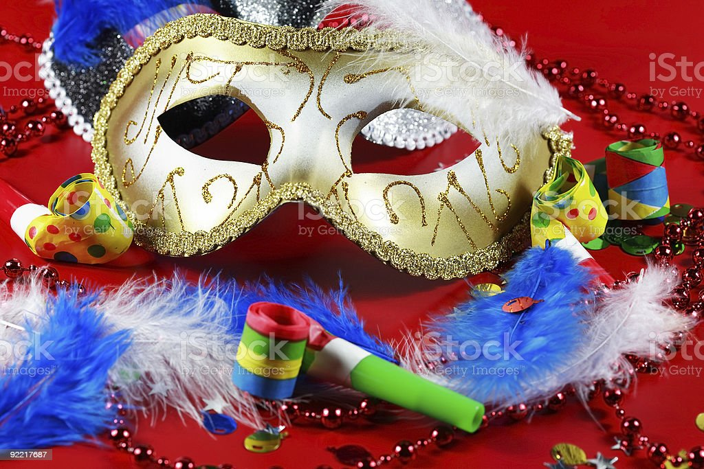 Carnival detail royalty-free stock photo