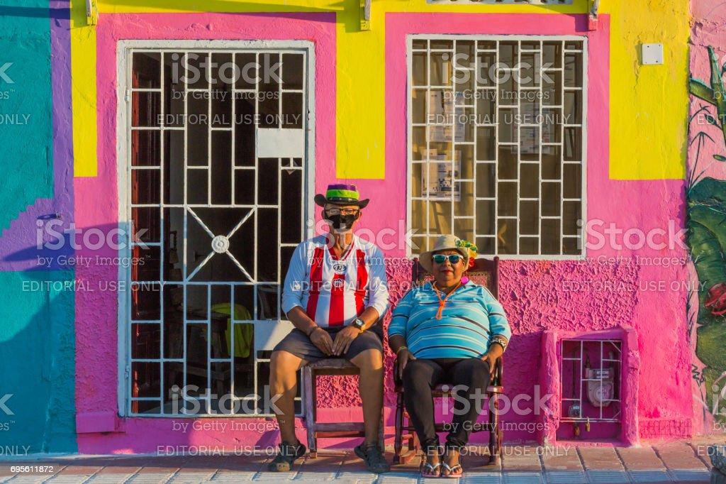 festival de carnaval de Barranquilla Atlantico Colombia - foto de stock