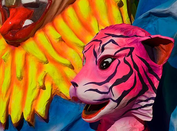 carnival float - faschingssprüche stock-fotos und bilder