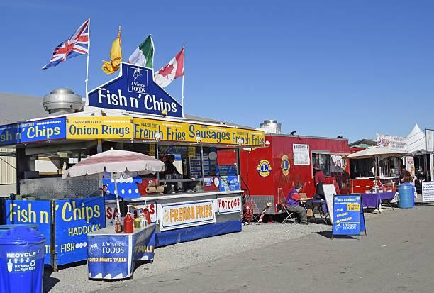 Carnival food trucks – Foto