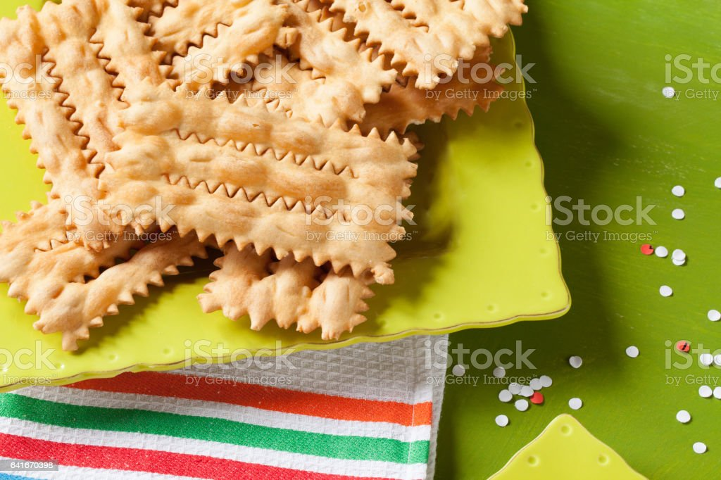 Carnival Fritters stock photo