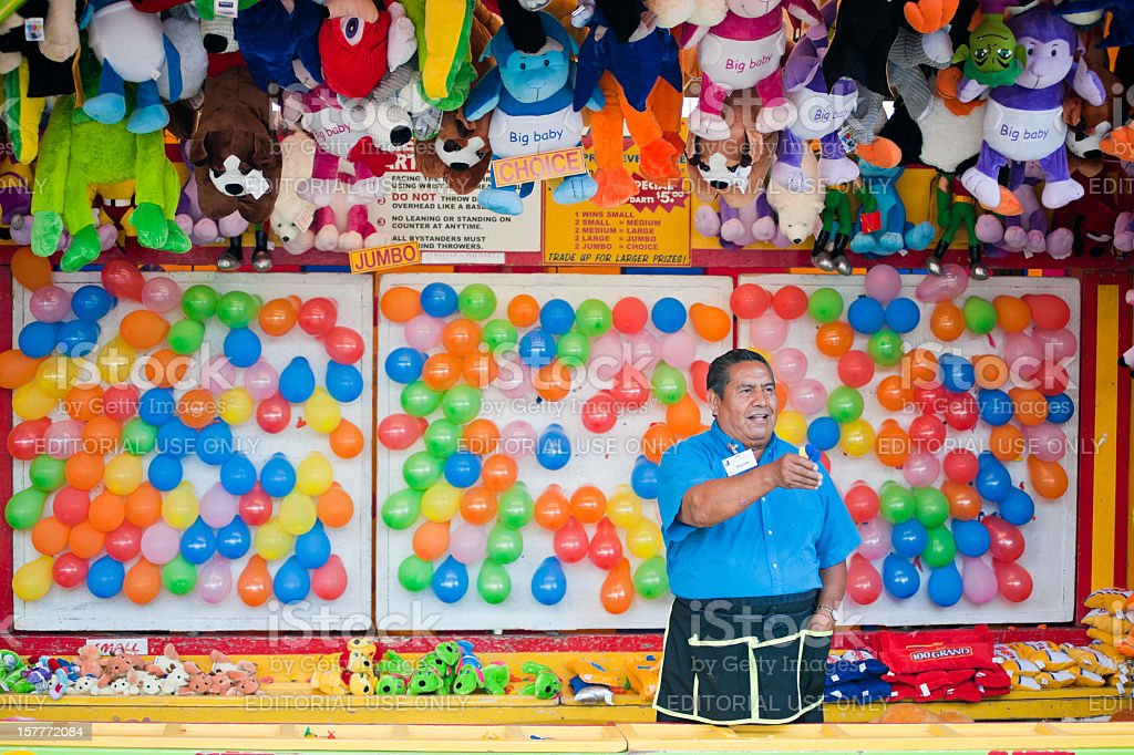Carnival Games stock photo