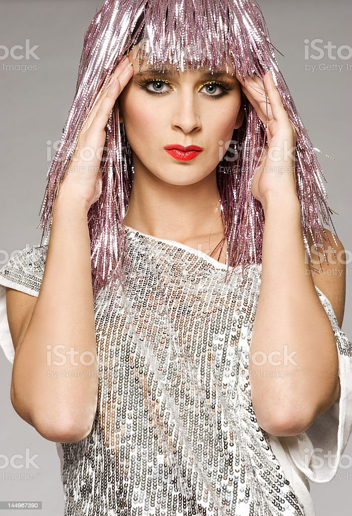 carnival girl royalty-free stock photo