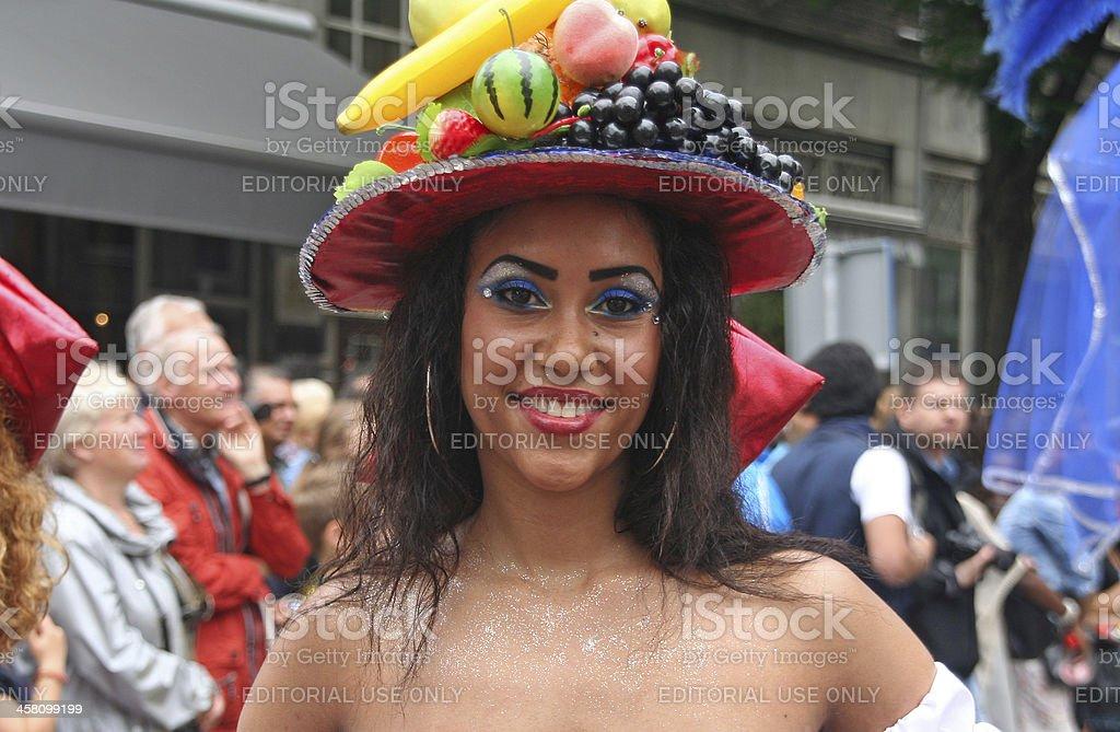 Carnival Girl stock photo