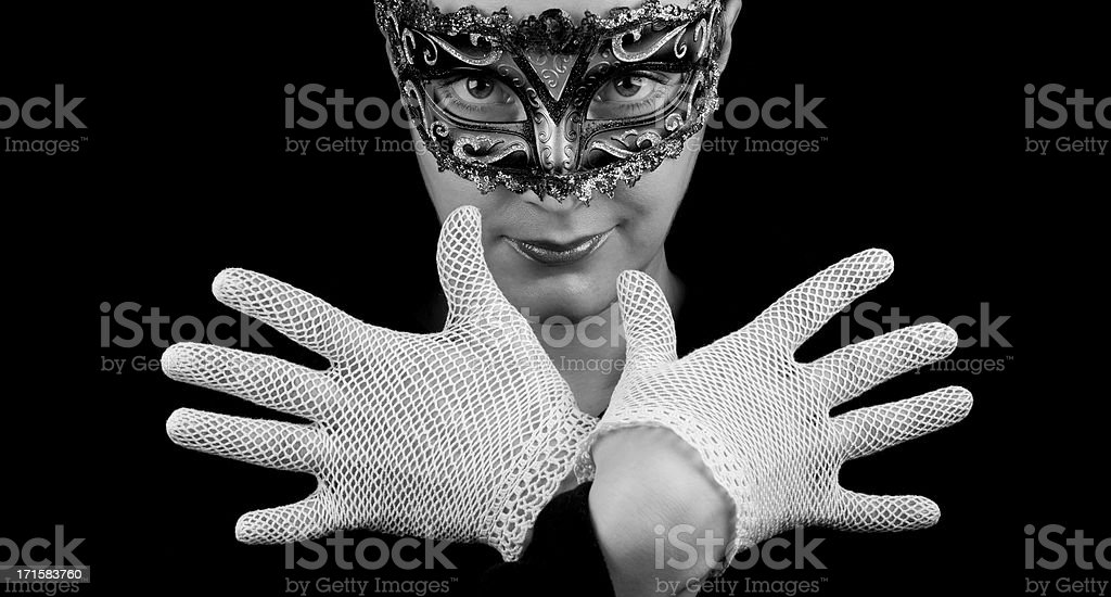 Carnival Glamour royalty-free stock photo