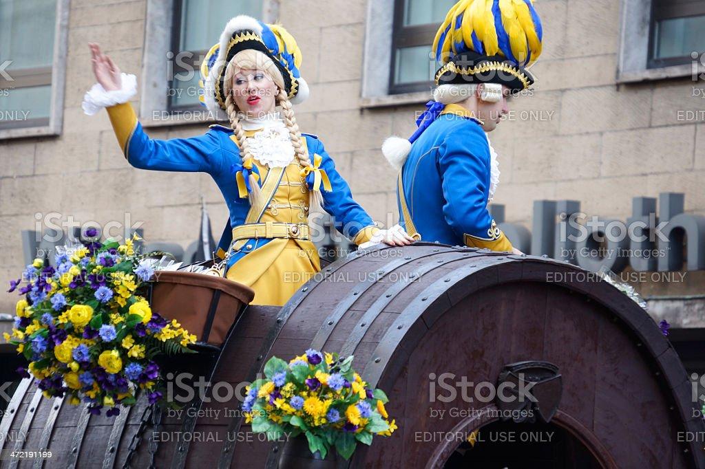 Carnival in Cologne 2014 stock photo