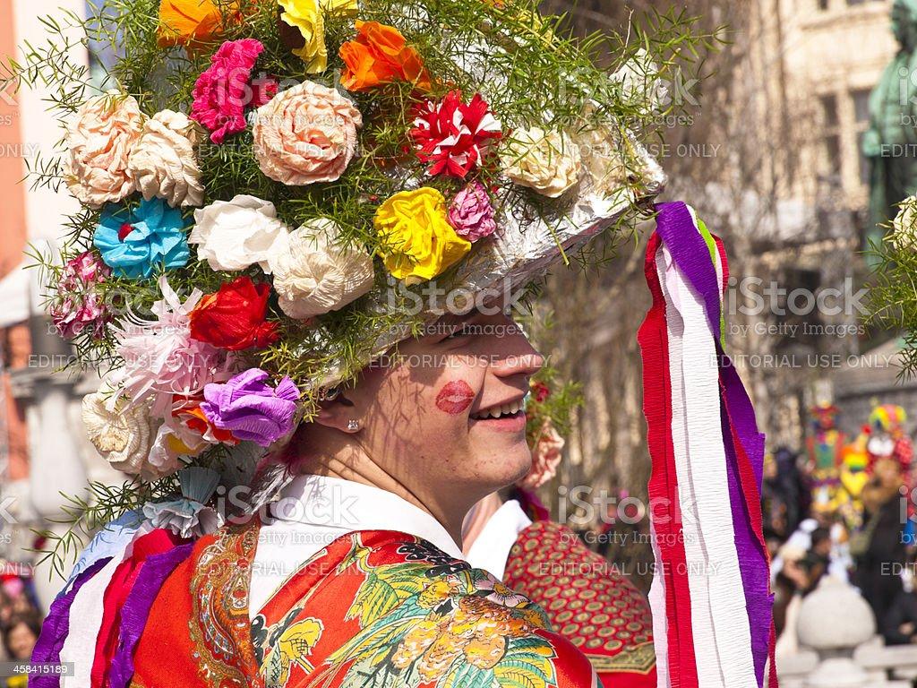 Carnival in Ljubljana royalty-free stock photo