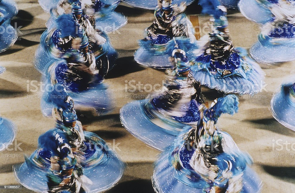 Carnival in Rio de Janeiro royalty-free stock photo