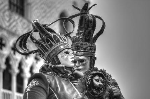 carnival in Venice,in the ever beautiful romantic Venice