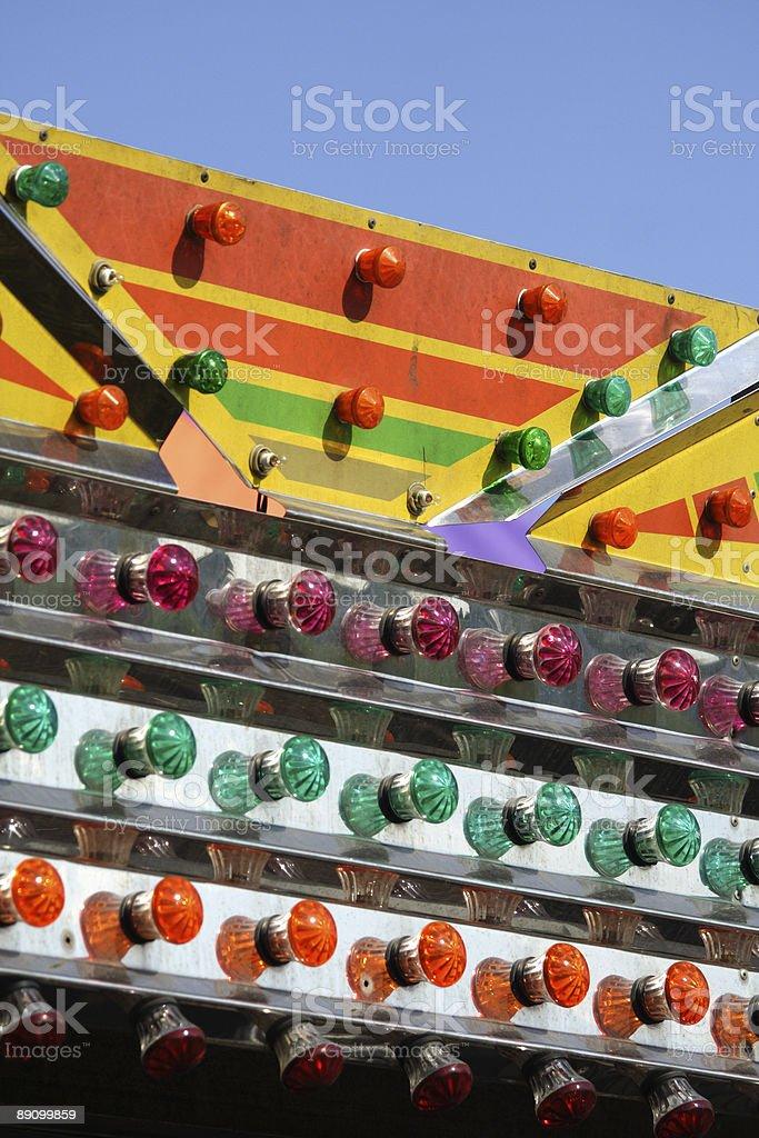 carnival light royalty-free stock photo