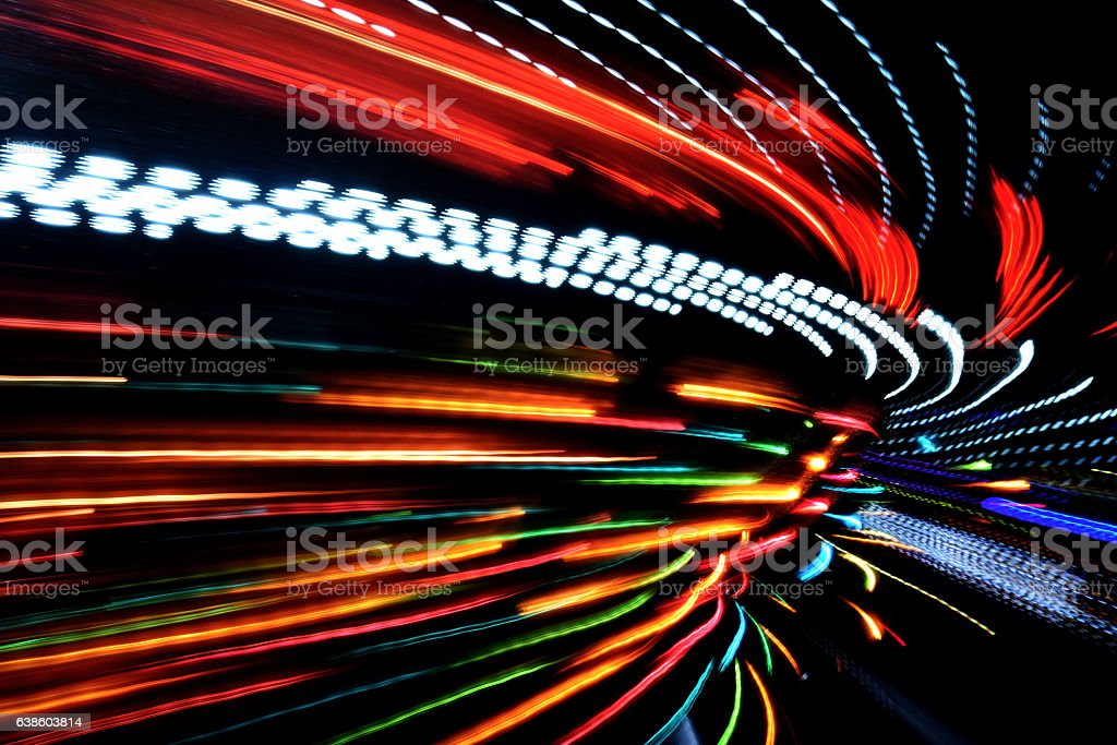 Carnival Lights - Abstract stock photo