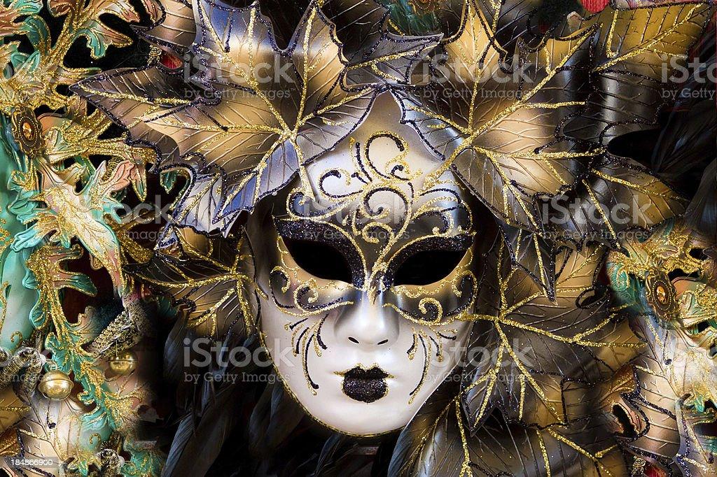 Carnival mask in Venice, Italy royalty-free stock photo