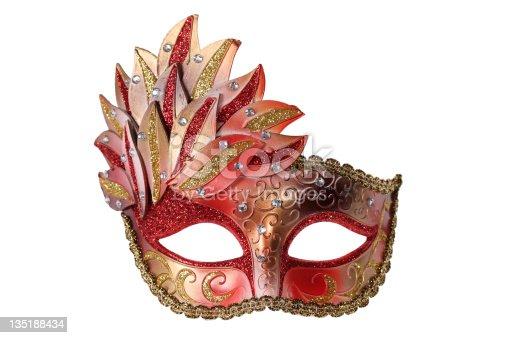 istock Carnival mask 135188434