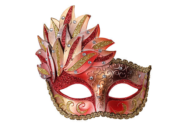 máscara de carnaval - mardi gras - fotografias e filmes do acervo