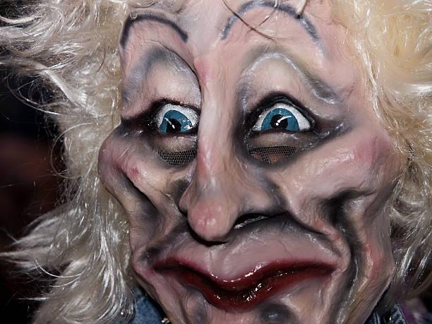 karneval maske - fasnacht stock-fotos und bilder