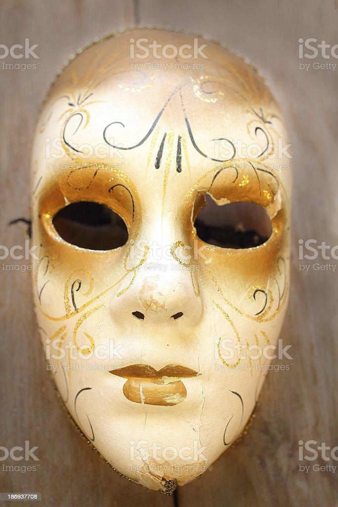 Carnival mask royalty-free stock photo