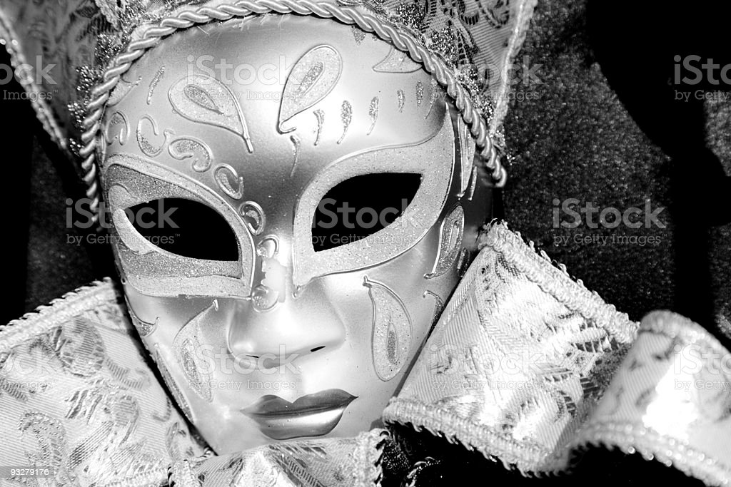 Carnival Mask, Venice royalty-free stock photo