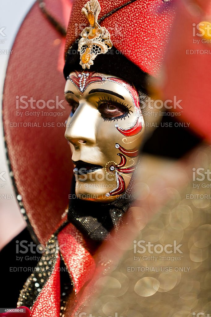 Carnival masks in Venice royalty-free stock photo