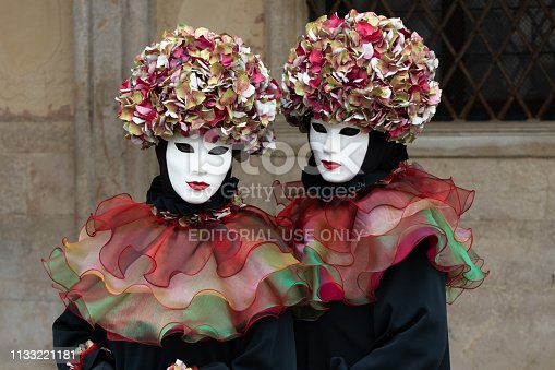 istock Carnival masks of Venice 1133221181