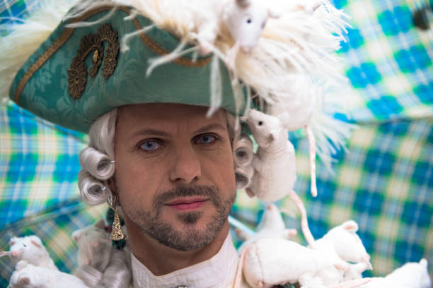 Carnival masks of Venice stock photo