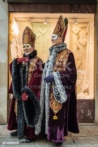 istock Carnival masks of Venice 824886928