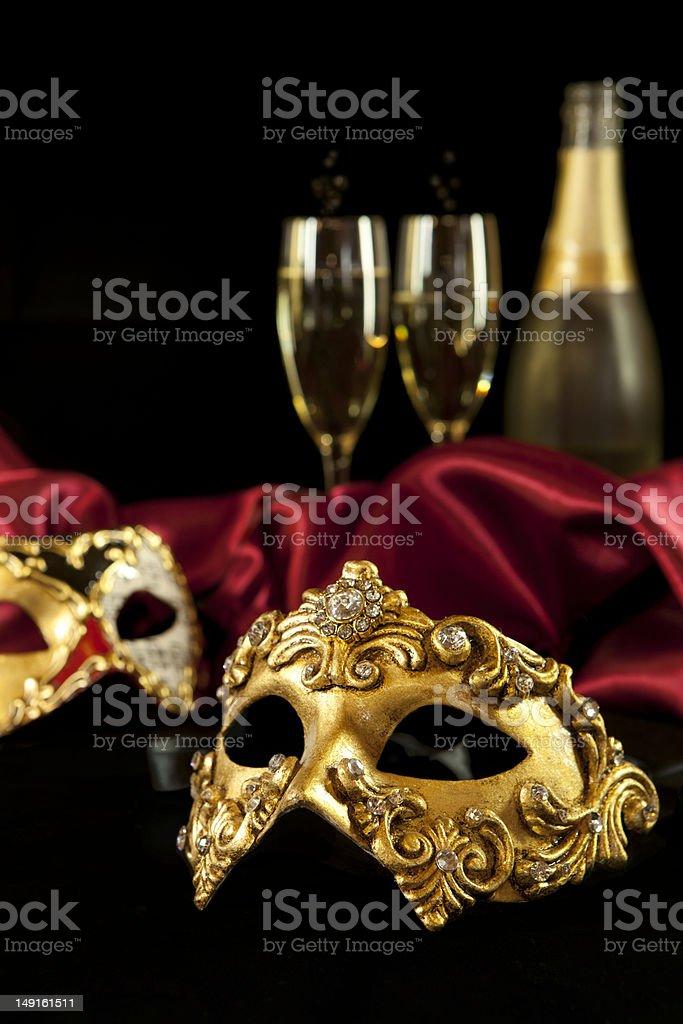 Carnival masks stock photo