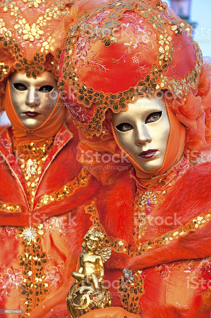 Carnival masks, venice. royalty-free stock photo