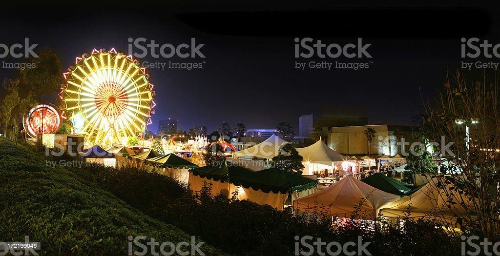Carnival Night stock photo