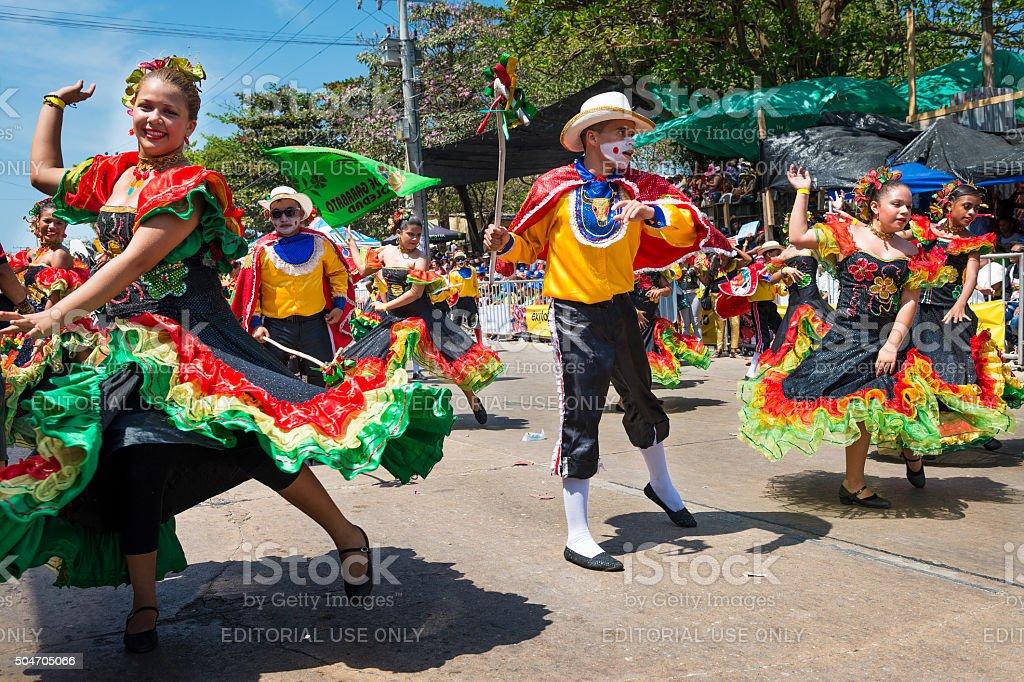 Carnaval de Barranquilla, Colombia. - foto de stock