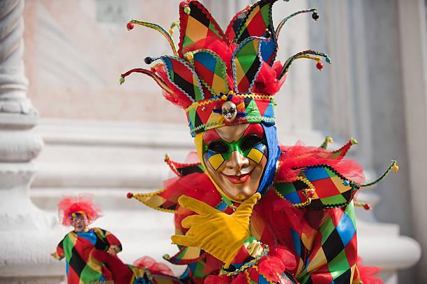 Carnaval de las máscaras - foto de stock