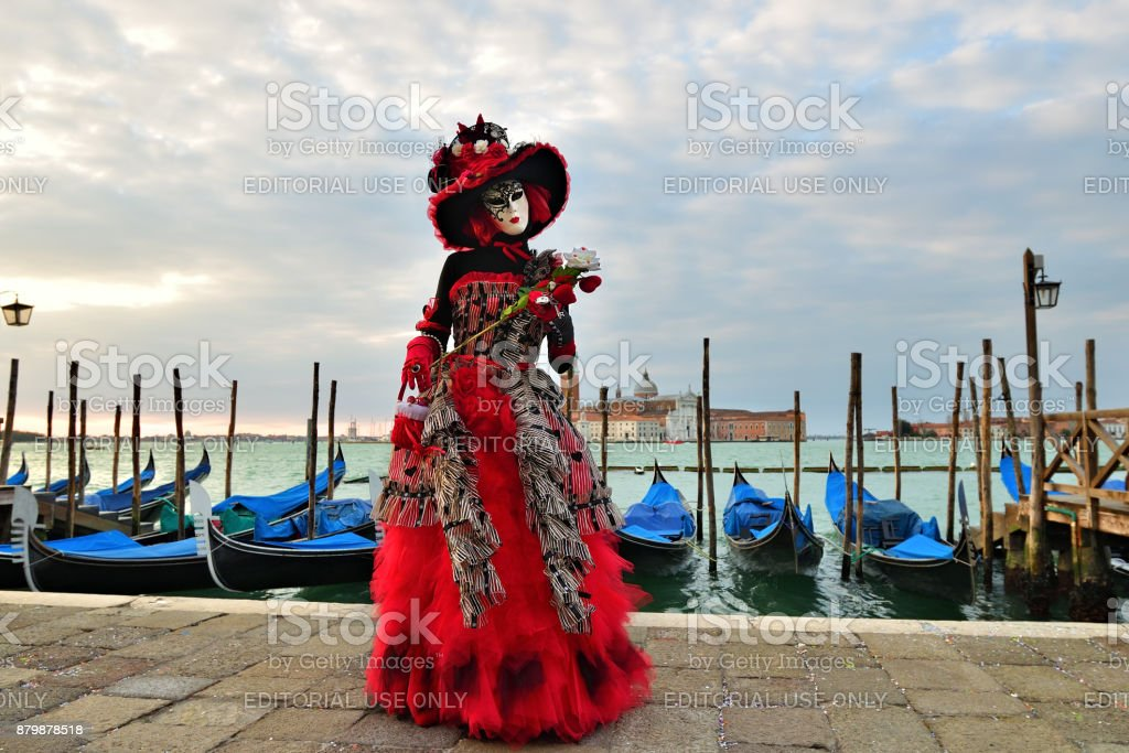 Carnival of Venice, Italy stock photo