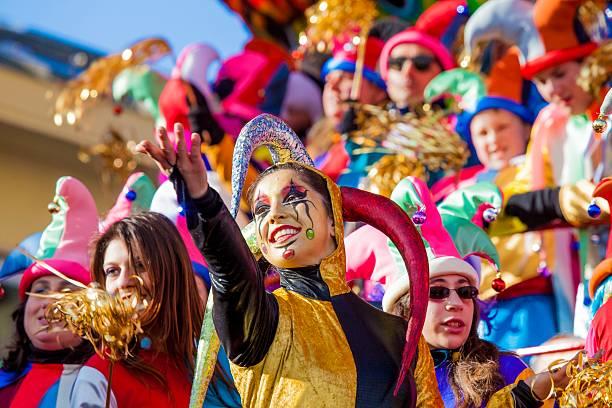 Carnival of Viareggio stock photo