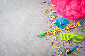 istock Carnival or birthday party background 670829198